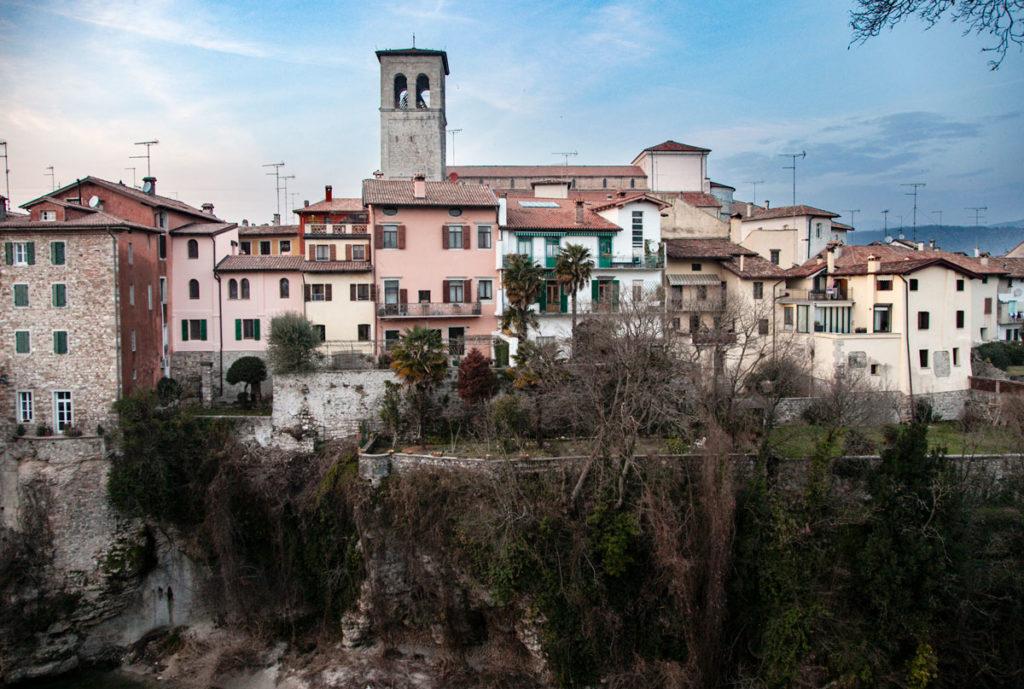 Panorama su Cividale del Friuli e fiume Natisone