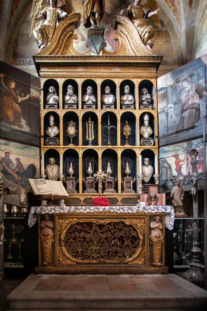 Reliquiario della cattedrale di San Giusto Martire