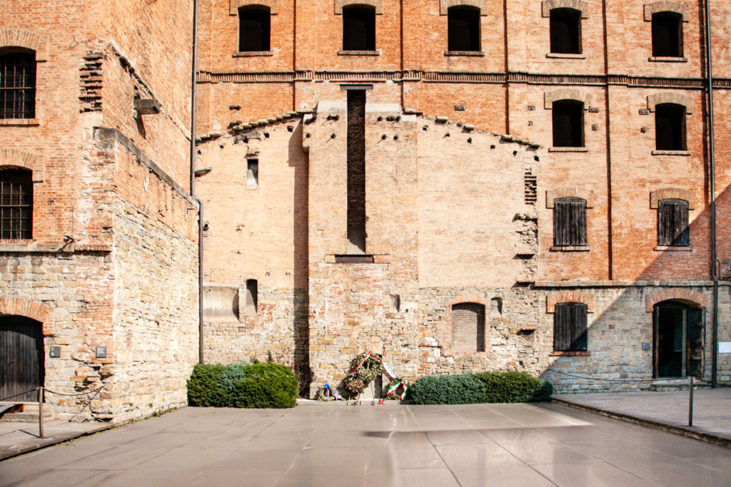 Resti del forno crematorio della Risiera di San Sabba