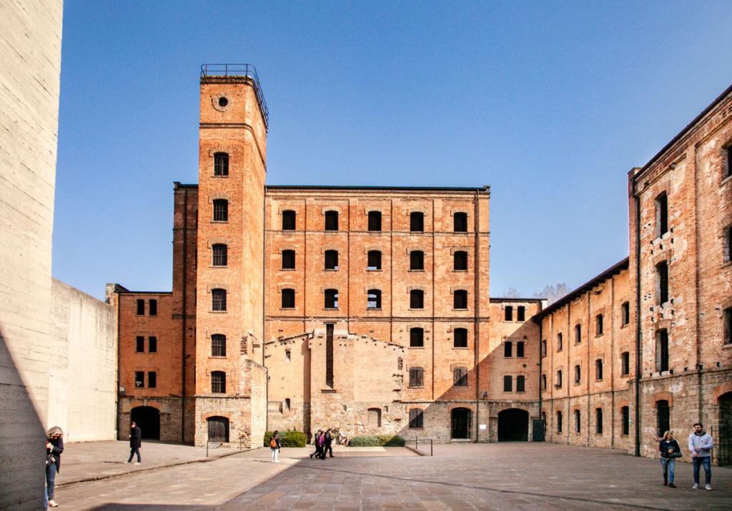 Risiera di San Sabba - Cortile interno del lager nazista di Trieste