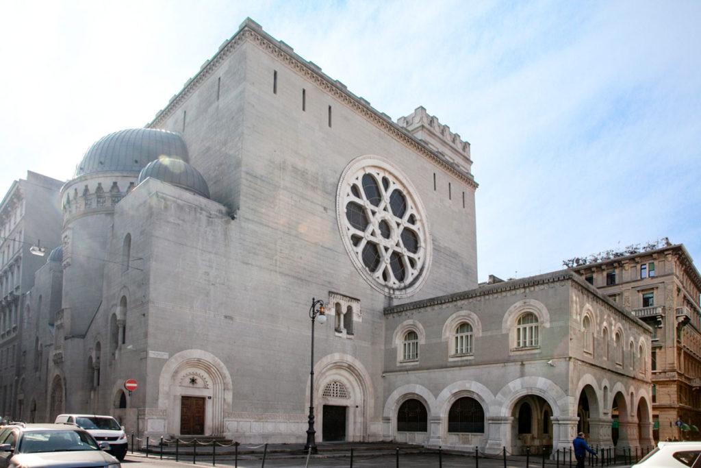 Sinagoga ebraica di Trieste - seconda più grande d'Europa