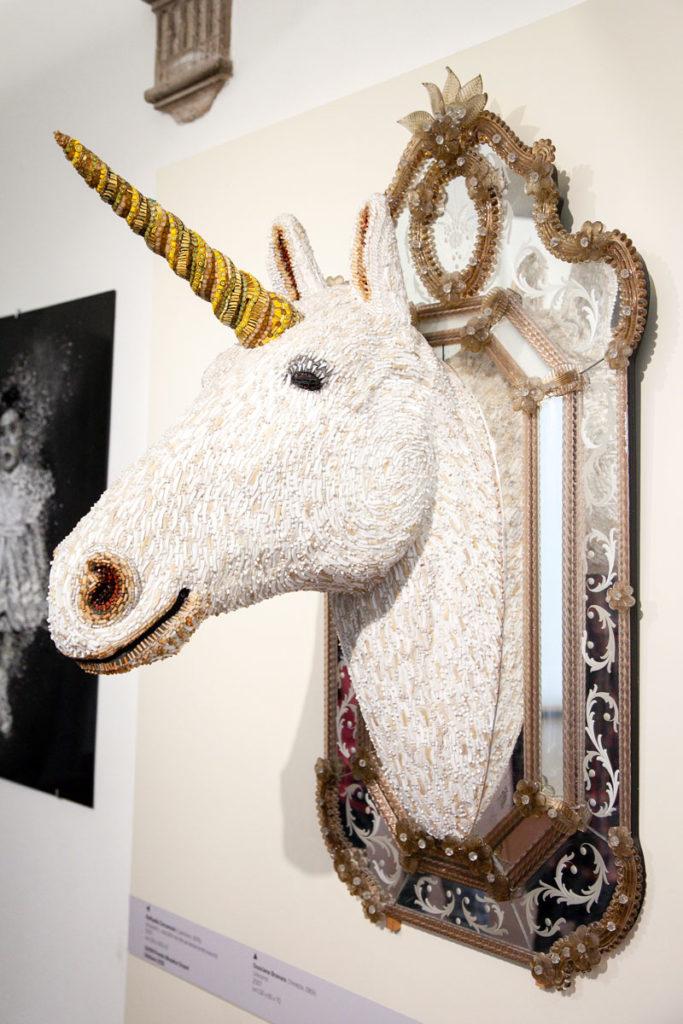 Unicorno di Dusciana Bravura nei mosaici contemporanei del MAR