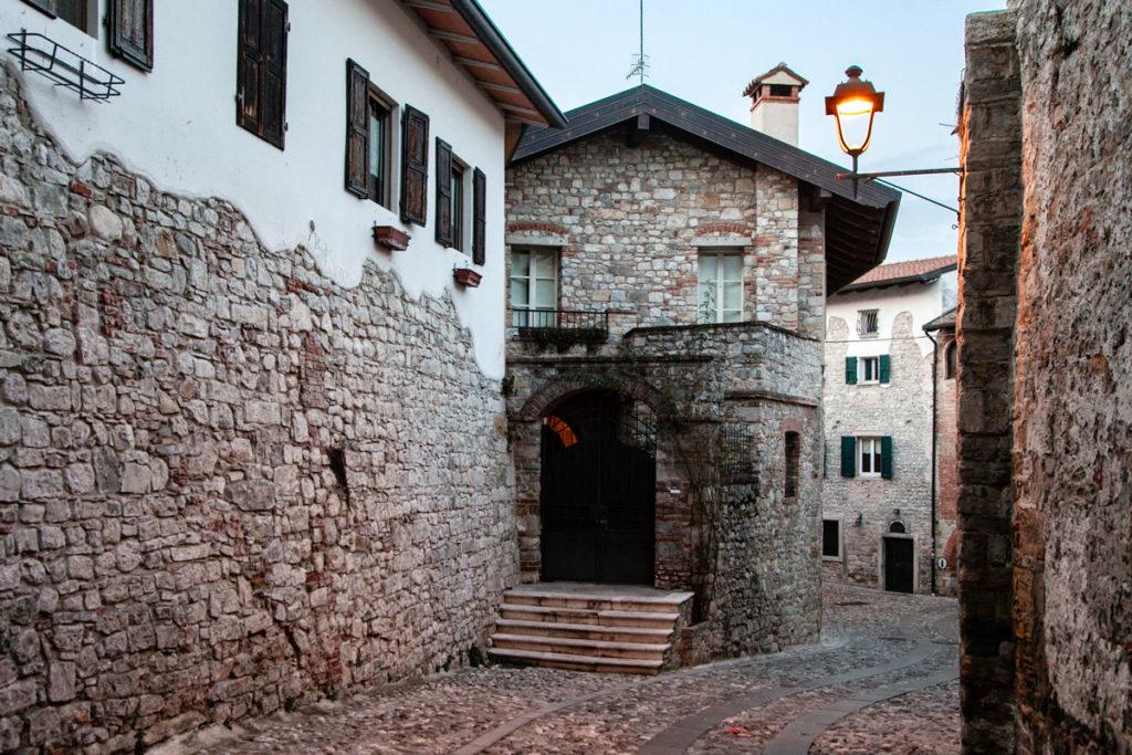 Vicoli del centro storico di Cividale del Friuli