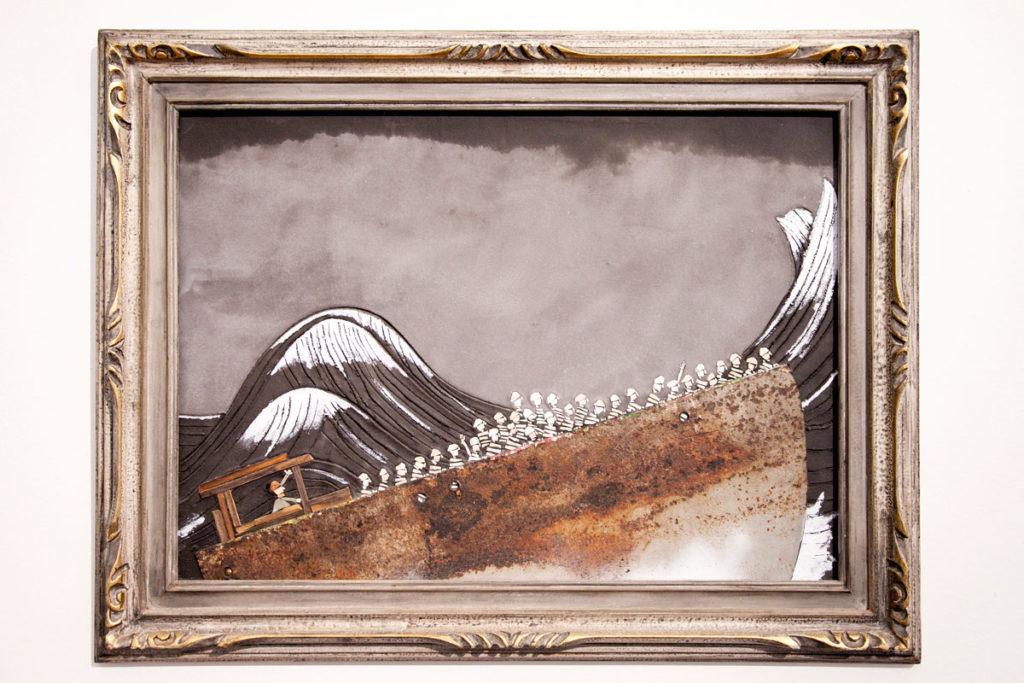 Way Out di Luca Barberini - Mosaico al MAR