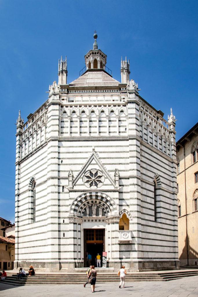 Battistero di San Giovanni in Corte di Pistoia - Esterni