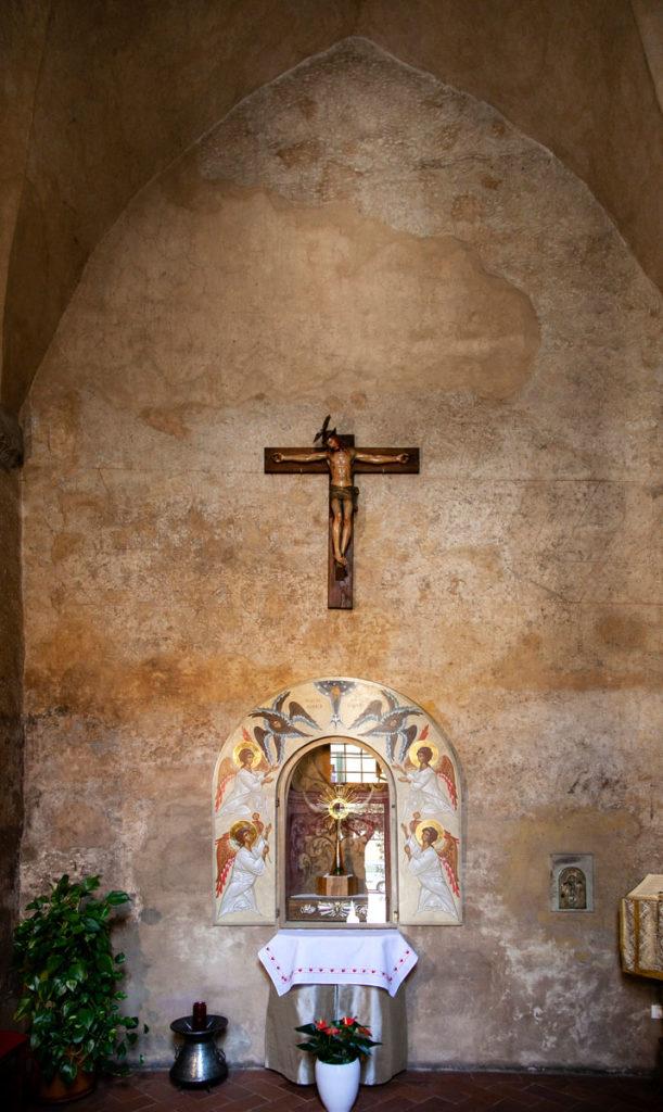 Cappella sotto al campanile della chiesa di San Paolo - Cosa Vedere a Pistoia