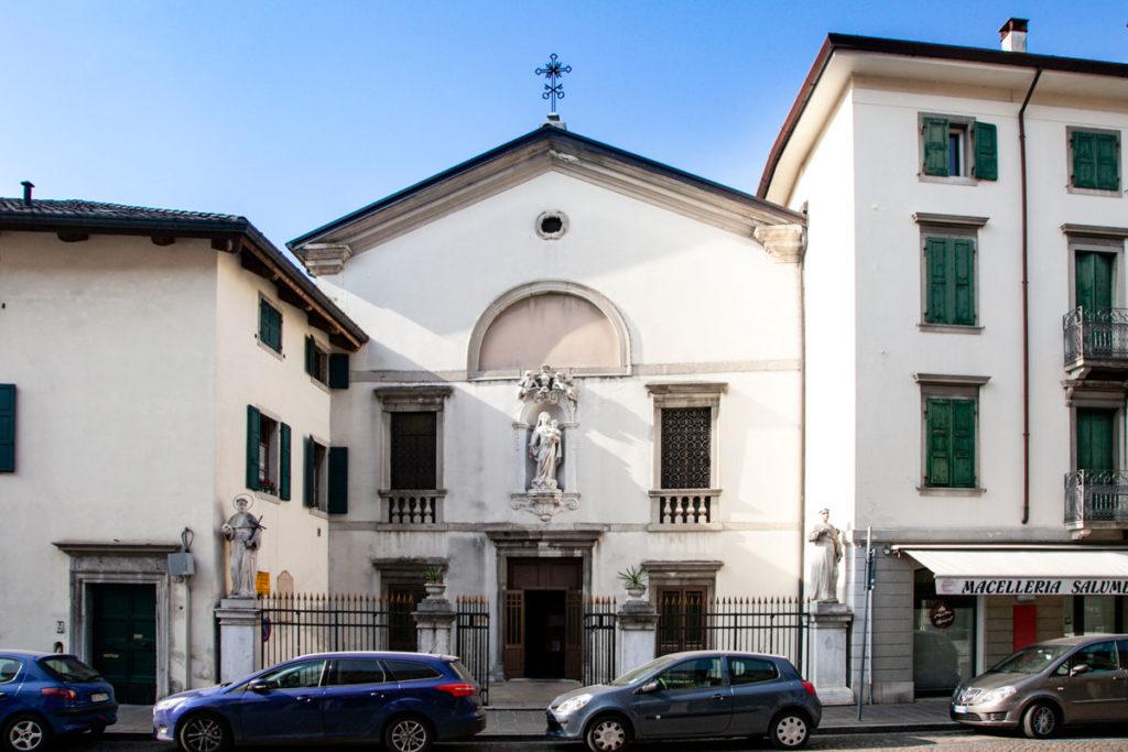 Chiesa della Beata Vergine del Carmine - Facciata Esterna