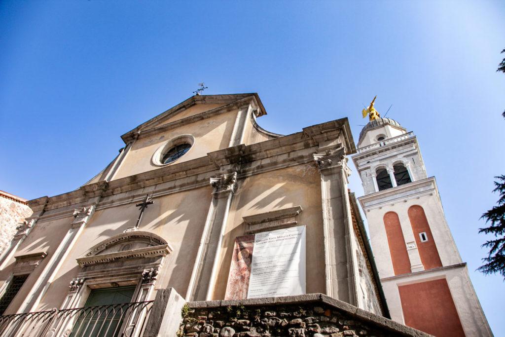 Chiesa di Santa Maria di Castello e Campanile dell'angelo - Udine