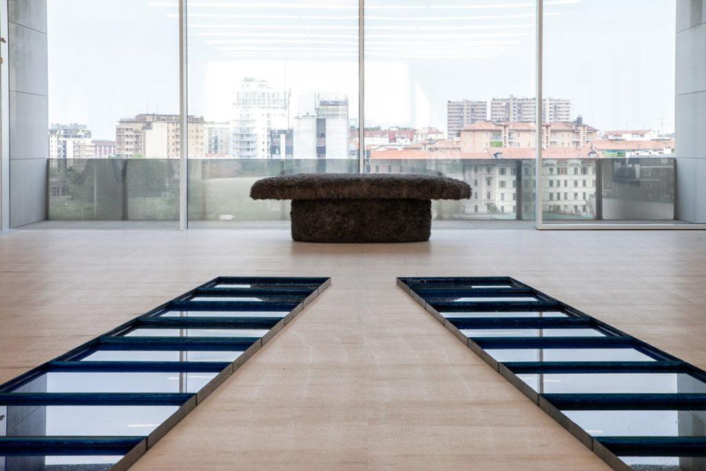 Confluenze e Pelo di Pino Pascali - Torre Fondazione Prada a Milano