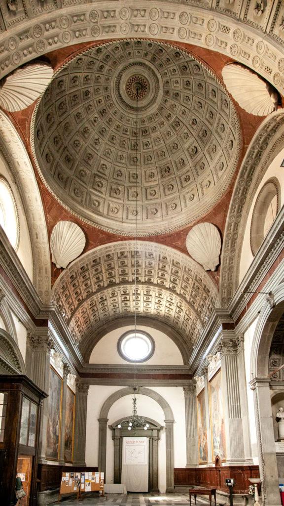 Cupola ingresso Santuario Basilica Madonna della Umiltà