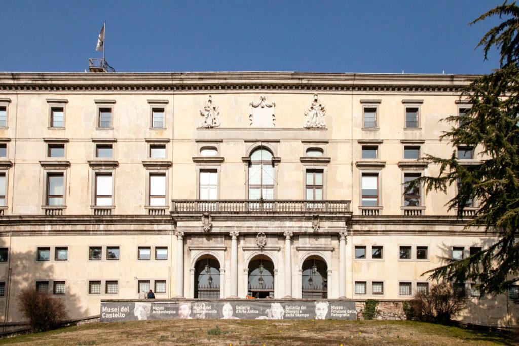 Facciata del Castello di Udine