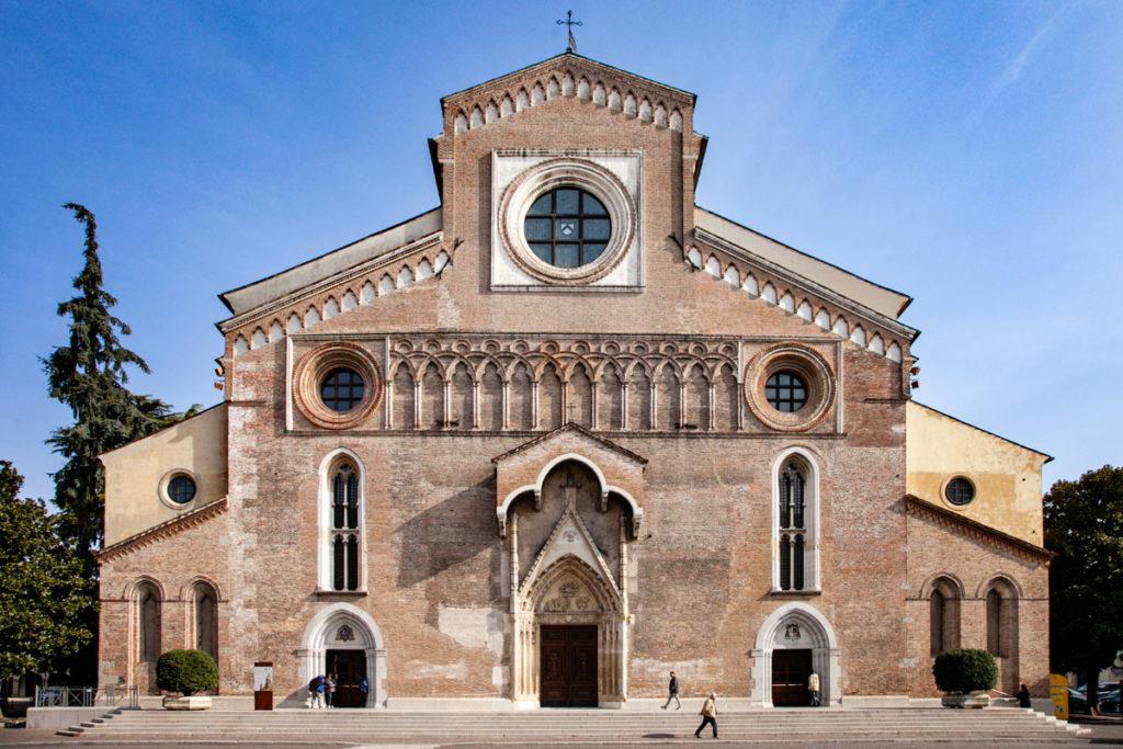 Facciata del Duomo di Udine - Cattedrale di Santa Maria Annunziata