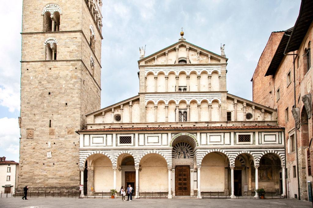 Facciata duomo di Pistoia - Cattedrale di San Zeno