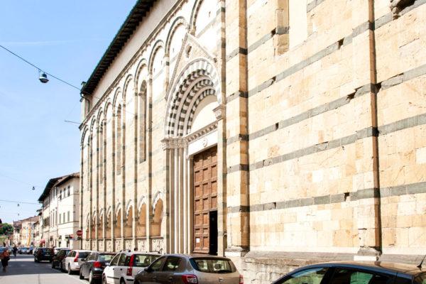 Facciata laterale chiesa di San Paolo