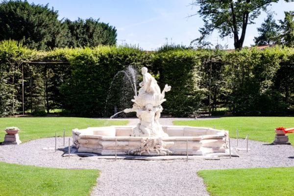 Fontana del Nettuno nel Parterre