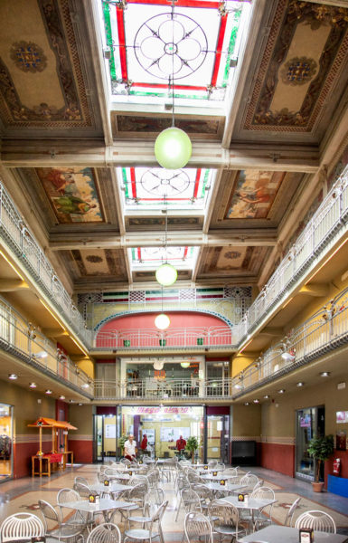Galleria Vittorio Emanuele - cinema Eden Pistoia