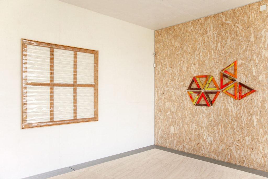 Grande Trasparente e Dieci Triangoli di Carla Accardi a Fondazione Prada - Milano