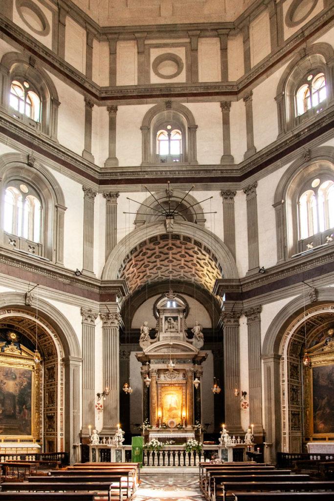 Interni del Santuario Basilica Madonna della Umiltà - Pistoia