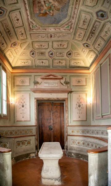 Interni del Teatro Anatomico - Ospedale del Ceppo