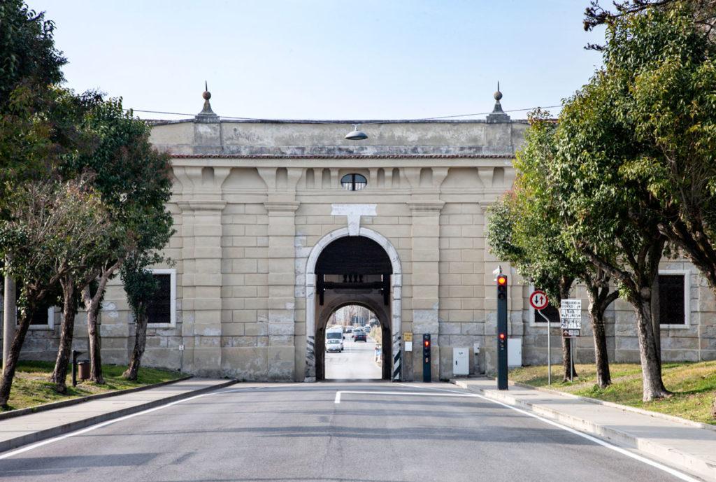 Interni di Porta Udine a Palmanova