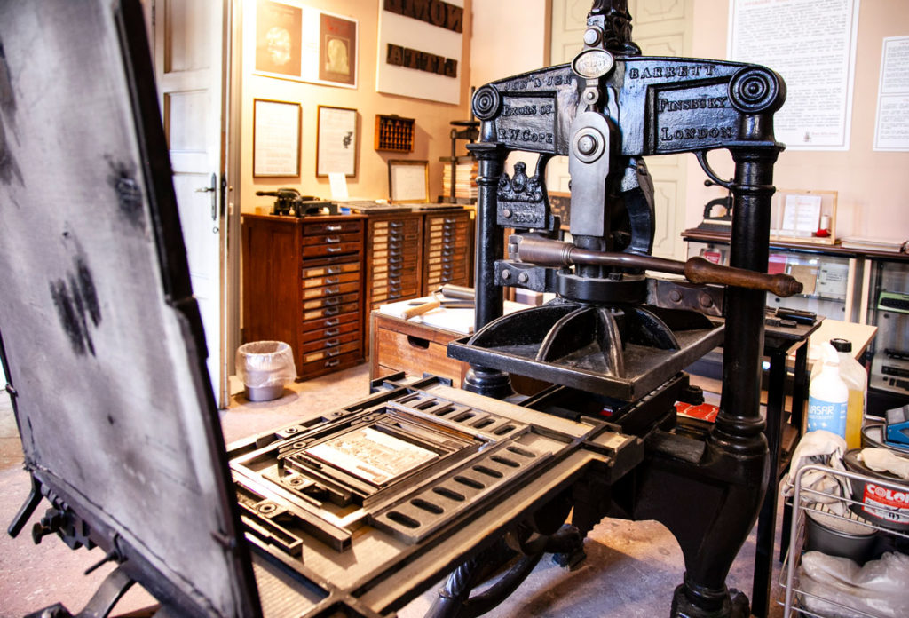 Museo della Stampa di Villa Litta Lainate - Pressa