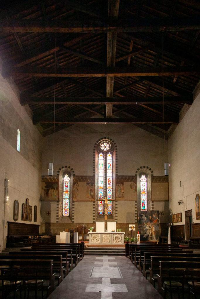 Navata Interna della chiesa di San Giovanni Fuorcivitas