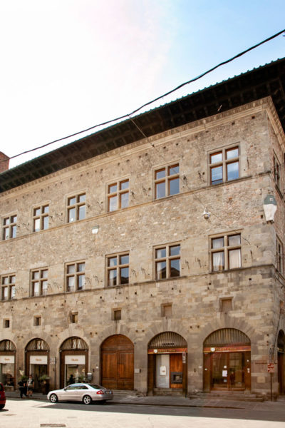 Palazzo Panciatichi o palazzo del Baly - Edificio Medievale di Pistoia