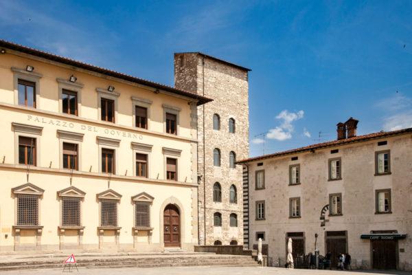 Palazzo del Governo e Torre di Catilina