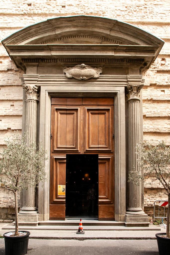 Portone di ingresso Santuario Basilica Madonna della Umiltà