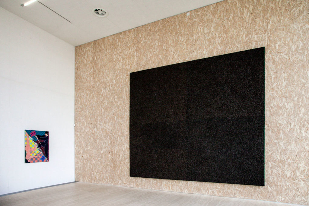 Quadro The Last Judgement di Damien Hirst nella Torre di Fondazione Prada