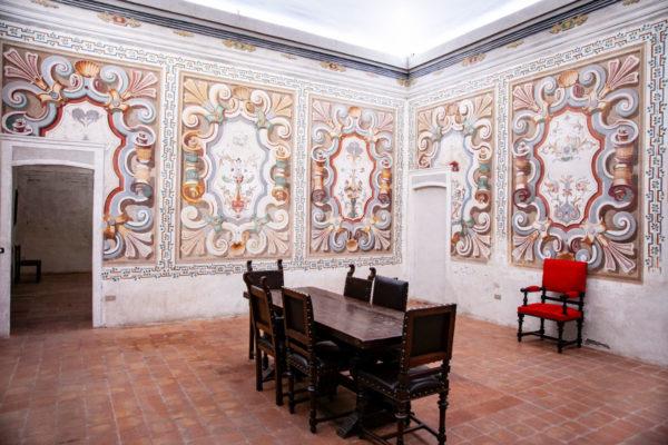 Sala dei Medoni del Palazzo Cinquecentesco