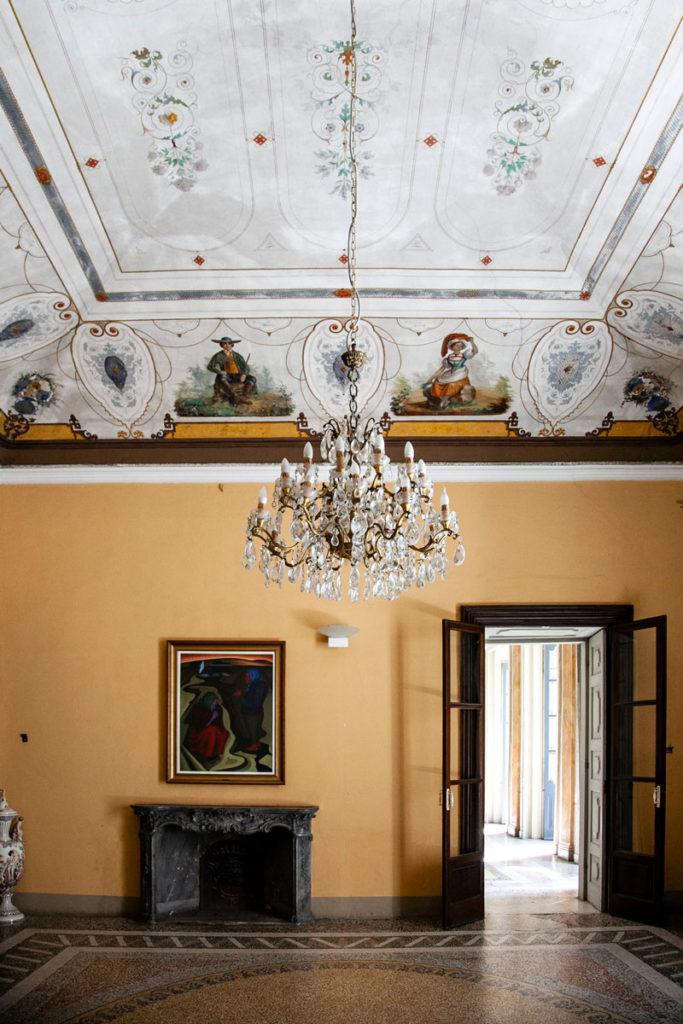 Sala del Trucco o delle Cineserie - Palazzo Settecentesco