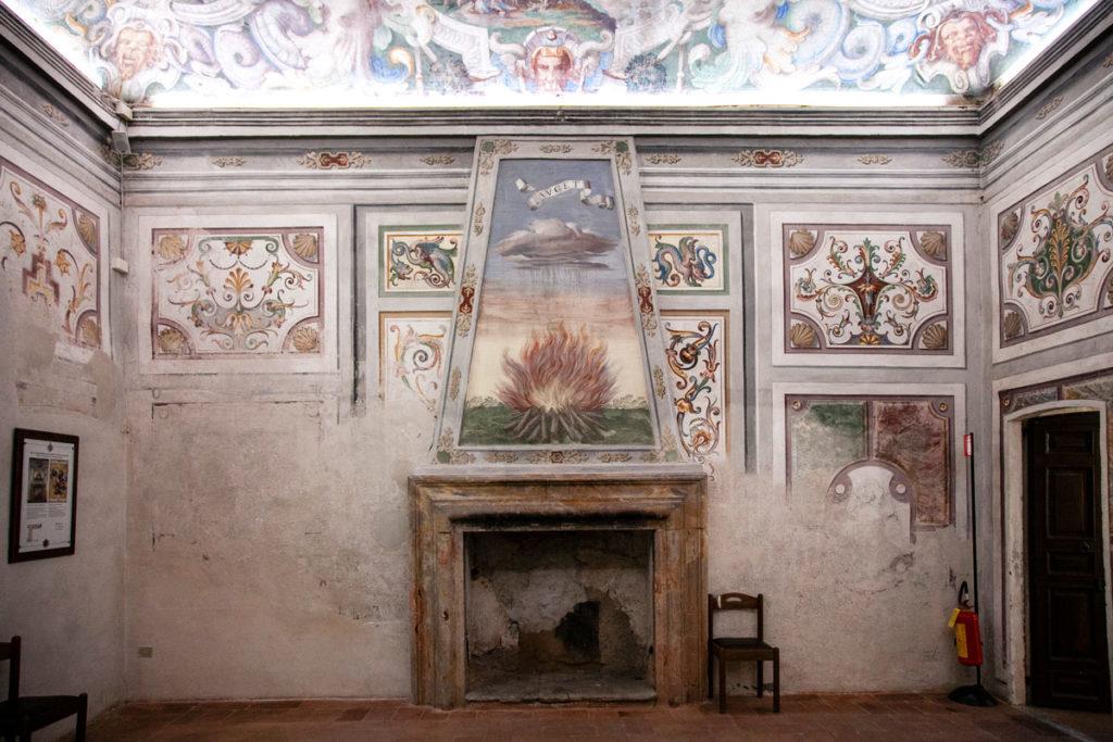 Sala della Fortezza o Sala del Camino