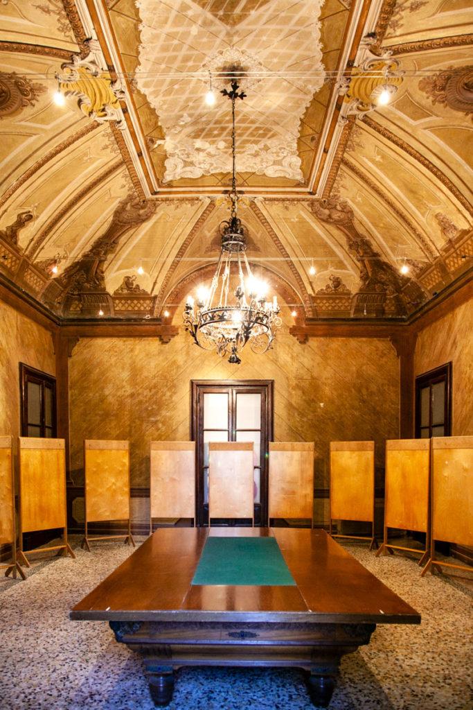 Sala delle Assi o Sala del Biliardo