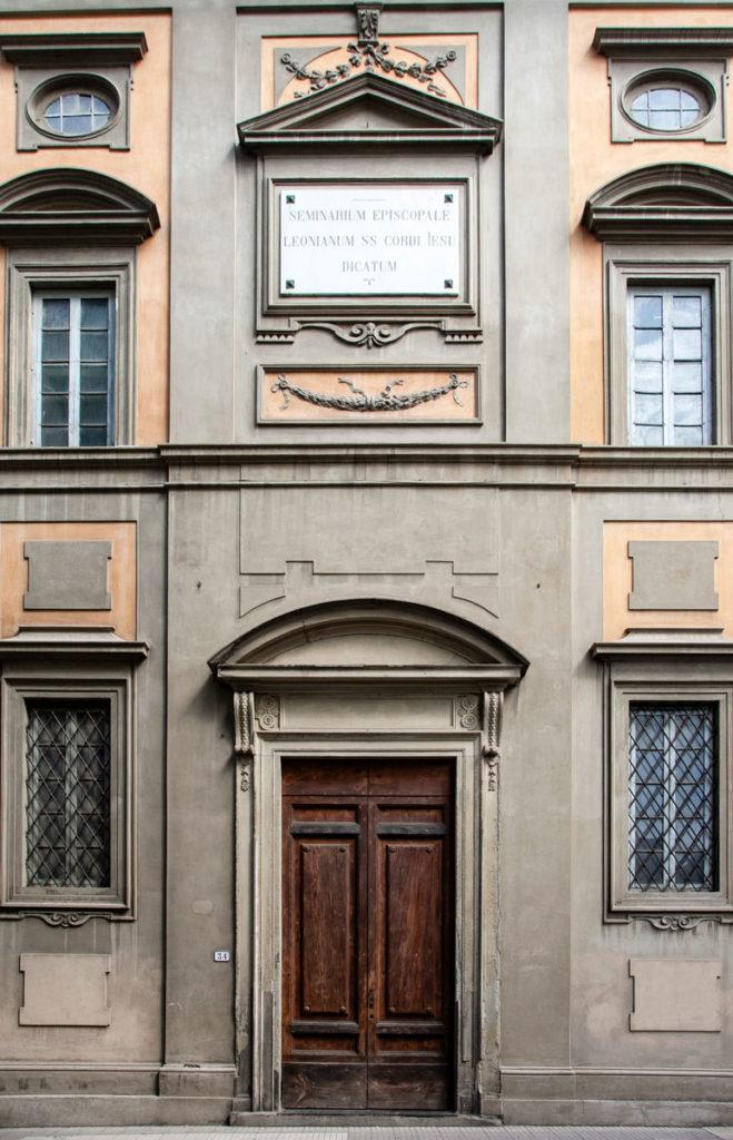 Seminario Vescovile di Pistoia - Facciata