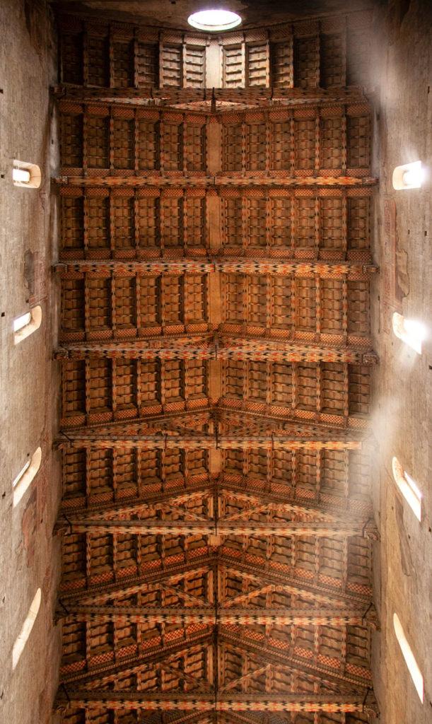 Soffitto in legno della cattedrale di San Zeno - Originario del XIV secolo