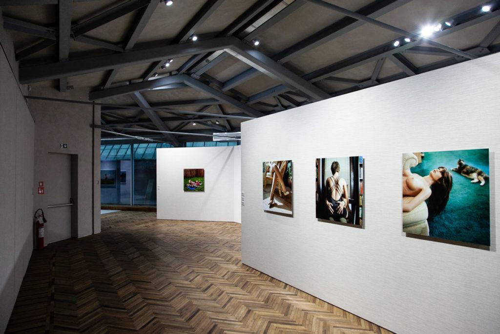 Solai in Legno e Laterizio e parquet - Fotografie Osservatorio Fondazione Prada