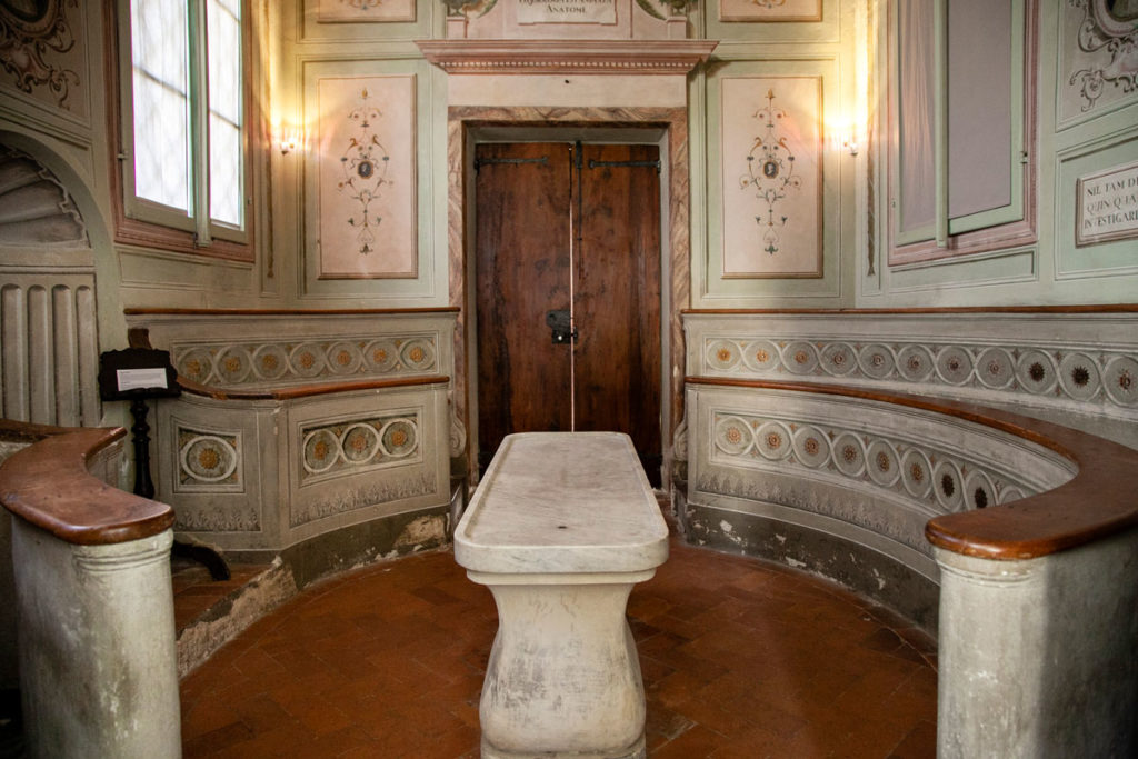 Teatro Anatomico Ospedale del Ceppo di Pistoia - Interni