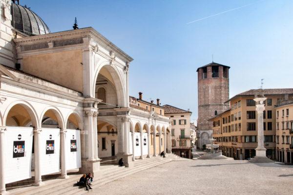 Tempietto di San Giovanni e Monumento ai Caduti - Loggia di San Giovanni e Campanile del duomo di Udine