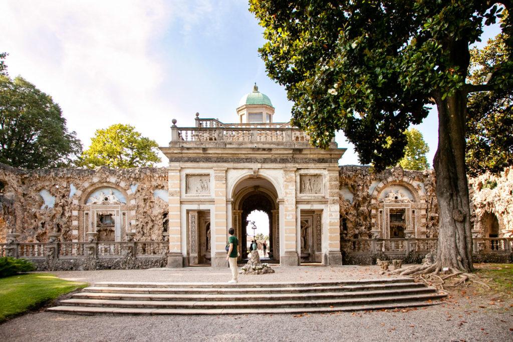 Villa Litta Lainate - Ingresso al Ninfeo