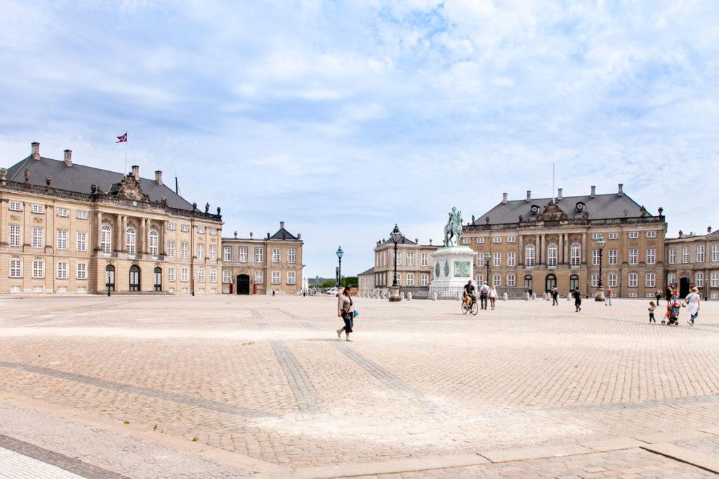 Amalienborg - Palazzo della Regina di Copenaghen