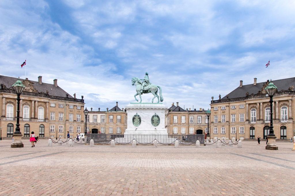 Amalienborg e Stata Equestre di re Federico V