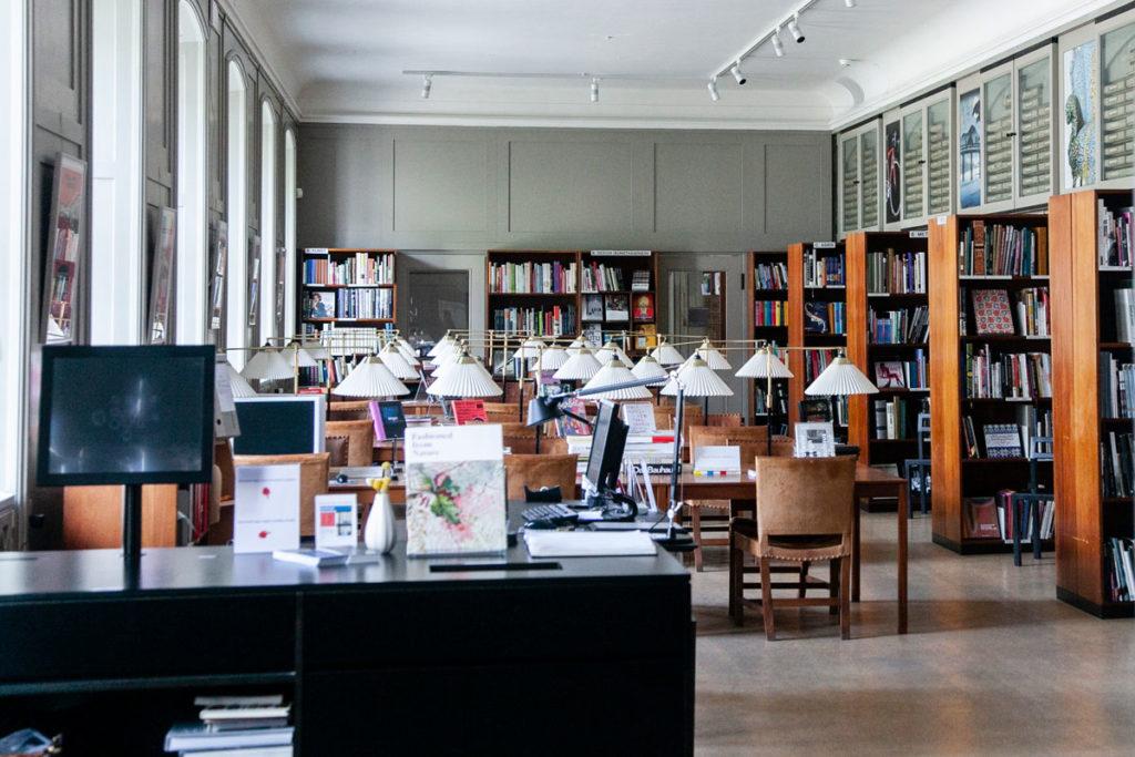 Antica biblioteca al Design Museum Danmark – Museo del Design Danese
