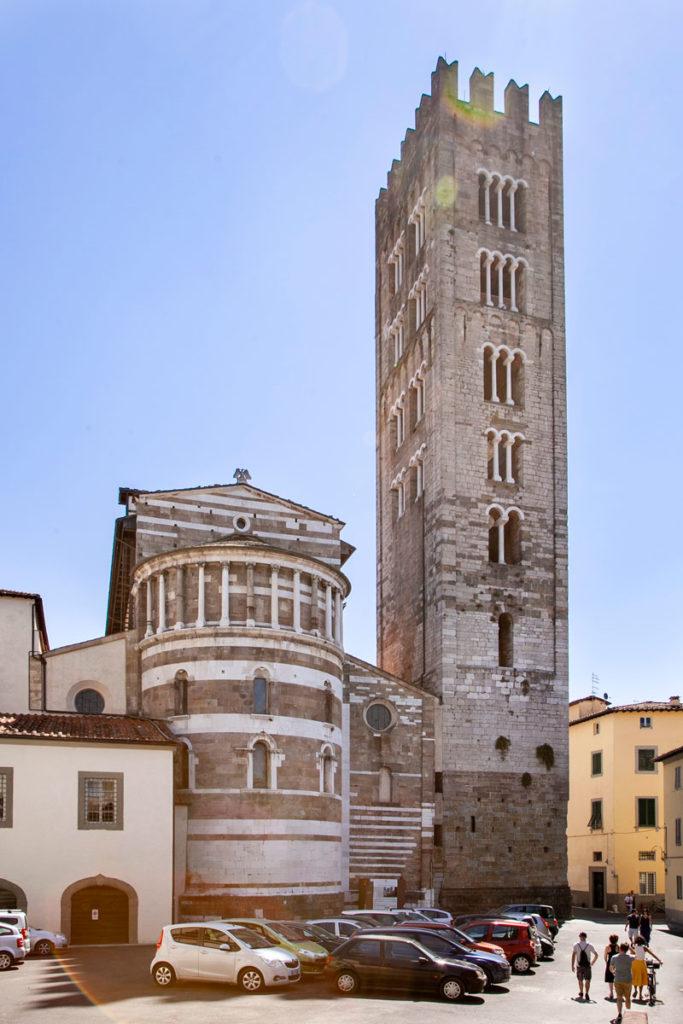 Basilica di San Frediano di Lucca - Abside e Campanile