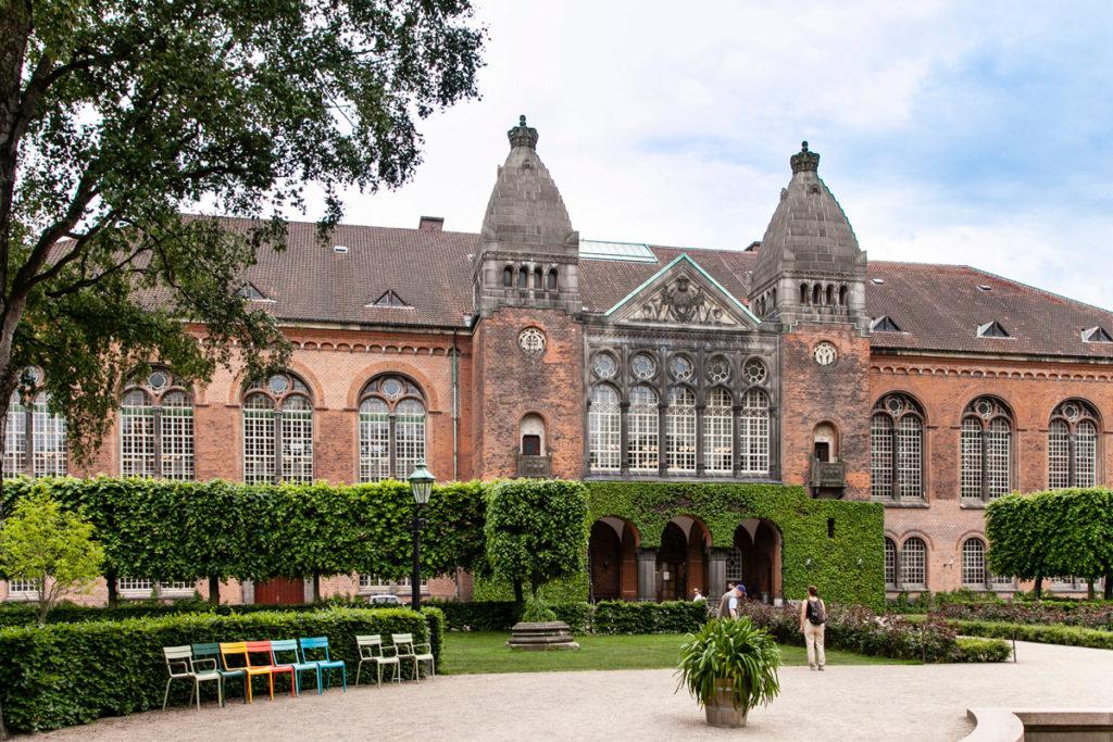 Biblioteca reale di Copenaghen - Parte Storica