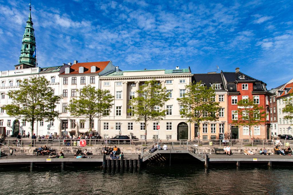 Canali nei dintorni di Christiansborg Slot