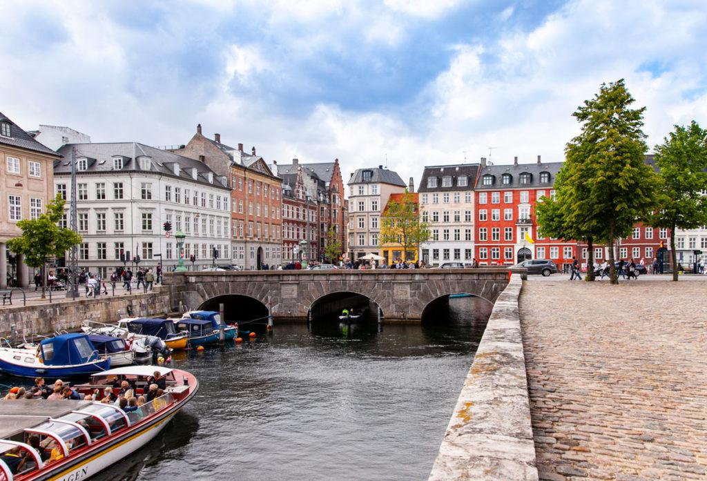 Case barche e canali al Nationalmuseet
