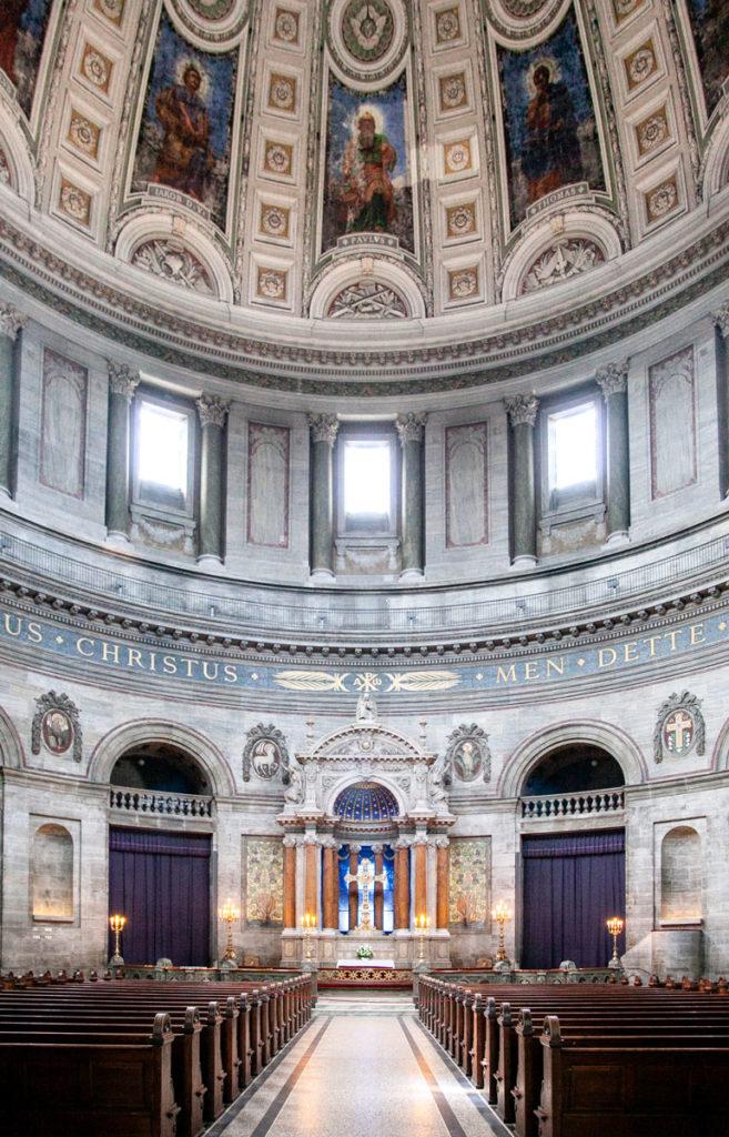 Chiesa e Cupola degli interni di Frederikskirken
