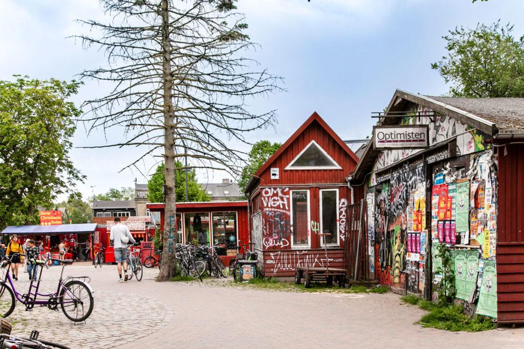 Christiania - Baracche e abitazioni nel cuore di Copenaghen
