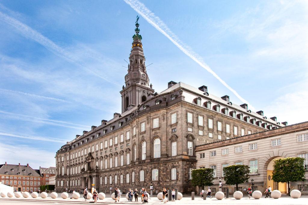 Christiansborg Slot - Esterni